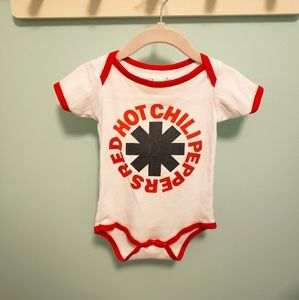 Red Hot Chili Peppers Onsie